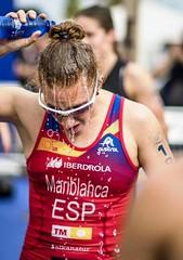 Copa de #Europa de #Triatlón Ana Mariblanca team clavería #ETUValencia élite femenina 10