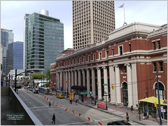 Waterfront Station Van18i06 LG (CanadaGood) Tags: canada bc britishcolumbia vancouver downtown harbour station sign building architecture canadagood 2018 thisdecade color colour cameraphone