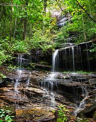 Misty Falls - 05 (MarksPhotoTravels) Tags: greenvillecounty mountainbridgewildernessarea southcarolina waterfall