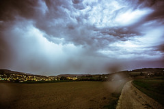 Thuderstorm and Lightning (Cheesecakecookie01) Tags: gewitter landschaft landscape lengnauag baden widen zurzibiet lightning sky thunderstorm field clouds