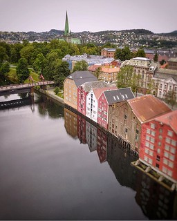 (#droneview) #Trondheim was founded in 997 as a trading post, and it served as the capital of #Norway during the #Viking Age until 1217. From 1152 to 1537, the city was the seat of the Catholic Archdiocese of #Nidaros; since then, it has remained the seat