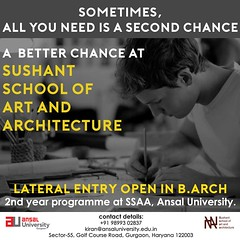 Sushant School of Art and Architecture most renowned school for Architecture (ansaluniversity77) Tags: architecture university india
