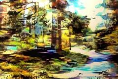 abstract-surrealistic dream (Kalev Vask.) Tags: digital kalevvask postprocessed photomanipulation digiart photoart painterly artistic creative estonia autumn manipulated ownphoto phototopainting forest topazstudio 2018 mediachance dap abstract lunapic