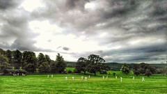 Last Game of the Season. (Mike.Dales) Tags: cricket langbaurghcricketleague eastharlseycc thimbleby northyorkshire england sonyxperiaxa2 hdr snapseed