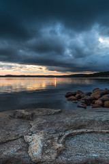 brooding sky (englishgolfer) Tags: sweden sverige west coast västkusten bohuslän sunset sea sky water nikon d7500 tamron 1750mm