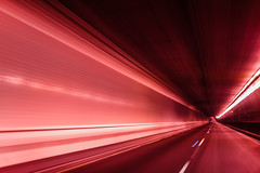 webster velocity (pbo31) Tags: eastbay alamedacounty night black dark september 2018 boury pbo31 nikon d810 color oakland city urban lightstream motion movement traffic roadway red tube tunnel infinity