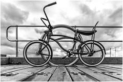 Circular (red stilletto) Tags: stkilda stkildamelbourne stkildabeach stkildapier stkildamarina circle circles wheel wheels bike bicycle famousflickrfive dragstar