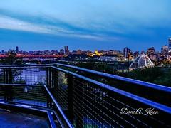 Follow The Line (khan_dane) Tags: dusk nightscape cityscape downtown alberta edmonton