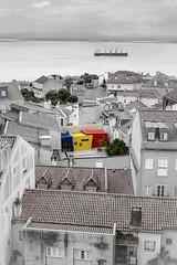 Be different (Sizun Eye) Tags: lisbonne portugal architecture modern urban city cityscape colorful river ship roofs houses sizuneye nikond750 nikon50mmf18