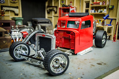 The Wes_Made Peterbilt RCratrod part 4, Paint and Body-2 (Strangely Different) Tags: rceveryday wesmade epacrawlers scaler scalerc tinytrucks hobby rc4wd ratrod rcratrod rcengineering patina peterbilt tamiya axial