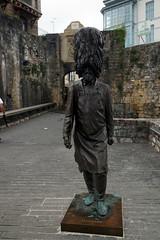 Fontarrabie, Statue Hatxeroa (vincent_dandrieubergez) Tags: fontarrabie