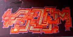 graffiti in Amsterdam (wojofoto) Tags: amsterdam nederland netherland holland flevopark amsterdamsebrug hof halloffame graffiti streetart wojofoto wolfgangjosten sjembakkus