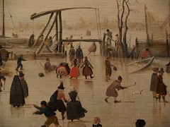 A Scene on the Ice (M_Strasser) Tags: mauritshuis olympus olympusomdem1 holland netherlands