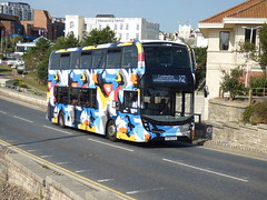 HF66CFA (47604) Tags: hf66cfa more bus 1634 bournemouth route service x2 lymington goahead
