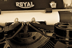 Type Right (Eric Tischler) Tags: flickrfriday oldfashioned typewriter royal antique