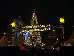 Berlin: Christmas Market (Larry Myhre) Tags: christmasmarket gendarmenmarkt berlin germany nightshot