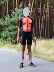Skinsuit (wetmuddy) Tags: outdoor forest fun spandex lycra unitard bike sport