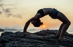 Urdhva Dhanurasana (mripp) Tags: yoga anusara sunset spain sony alpha 7rii voigtlander nokton 40mm f12