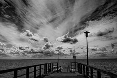 The finished rubbed sky (4eye) Tags: 4eye monochrome blackandwhite bw world kuźnica polska poland amateur nikon nikkor 18105mmf3556gvr helpeninsula