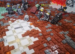 Mimban Mud Madness (WG Productions) Tags: lego mimban star wars storm trooper moc empire scifi galactic civil war