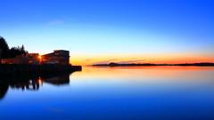 Herdlafjorden 12. mai -18 20 sec (bjarne.stokke) Tags: askøy hordaland norway norge norwegen natt noreg solnedgang speiling sunset langlukkertid