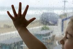 262/365 Reasons to Love Rain 5 (Helen Orozco) Tags: 262365 2018365 raindrops bluebar porthtowan cornwall ma