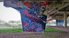 Obit, Maze, Skay / ROA / Maldegem - 20 sep 2018 (Ferdinand 'Ferre' Feys) Tags: maldegem belgium belgique belgië streetart artdelarue graffitiart graffiti graff urbanart urbanarte arteurbano ferdinandfeys roa