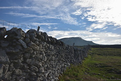 Pen-y-ghent and Dry Stone Wall (Bri_J) Tags: yorkshirethreepeaks walk yorkshiredales nationalpark northyorkshire uk yorkshire countryside hills nikon d7200 penyghent drystonewall clouds sky