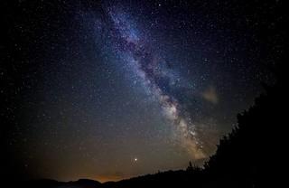 Milky Way from Tatra