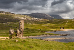 Ardvreck Castle, Scottish Highlands  (Explored 20/8/18) (donnasmith13) Tags: ancient architecture ardveck ardvreck ardvreckcastle areasofoutstandingnaturalbeauty assynt attraction beautiful britain british building castle castleruin cloud clouds countryside derelict dramatic grass greatbritain green heritage highlands historic historical history lake landmark landscape loch lochassynt medieval monument mountain mountains nature north old outdoors rugged ruin scenery scenic scotland scottish scottisharchitecture scottishcastle scottishhighlands scottishlandscape scottishscenery shore sky stone stonework sutherland water wilderness
