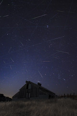 2018 Perseid's Over Barn (Nate Yolles) Tags: perseidmeteorshower meteorshower astrophotography san jose california canon 80d rokinon 14mm barn night sky