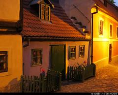 20170702_45 Tiny blue house at dusk - the cutest house in town! | Zlatá ulička aka Golden Lane | Prague, the Czech Republic (ratexla) Tags: ratexlasinterrailtrip2017 interrail 2jul2017 2017 canonpowershotsx50hs prague interrailing eurail eurailing tågluff tågluffa tågluffning travel travelling traveling journey epic europe earth tellus photophotospicturepicturesimageimagesfotofotonbildbilder wanderlust vacation holiday semester trip backpacking tågresatågresor resaresor europaeuropean sommar summer ontheroad city urban town praha prag českárepublika zlatáulička goldenlane history house houses building hus small tiny little cute adorable sweet söt söta gullig gulligt gulliga cottageporn stugporr blue fence greenfence number19 19