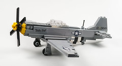 "P-51D Mustang ""Dallas Doll"" (BeachStorminBricks) Tags: p51d mustang aircraft wwii"