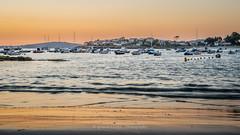 Sunset in Canido harbour (Ignacio Ferre) Tags: playa beach sunset puestadesol puerto harbour vigo pontevedra galicia españa spain paisaje landscape nikon barca boat port canido mar agua cielo bahía arena
