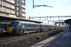 Great Western Railway IET 800020 (Will Swain) Tags: gloucester station 18th april 2018 gwr train trains rail railway railways transport travel uk britain vehicle vehicles england english west swindon intercity express great western iet 800020 class 800 020 20