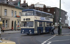 Grimsby Fleetline in Blackpool (Renown) Tags: bus doubledeck daimler fleetline roe grimsbycleethorpes blackpool sjv90h fylde lancashire