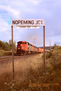CN 5536, Nopeming Jct, MN. 9-30-2003