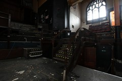 IMG_0884 (mookie427) Tags: urbex urban explore exploration exploring explorers explorer ue derelict dereliction abandoned abandonment decay decayed ruin ruined empty methodist central hall religion religious church auditorium theatre meeting gathering place