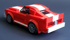 68 Shelby GT (Autobricknology) Tags: 1968 ford mustang shelby gt 350 500 kr 428 cobrajet lego