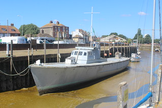 Rescue Motor Launch 526 at Strand Quay, Rye, East Sussex.