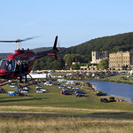 Helicopter at Chatsworth. thumbnail