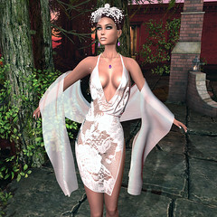 LuceMia - :: TIFFANY DESIGNS :: & PosESioN (2018 SAFAS AWARD WINNER - Favorite Blogger - MISS ) Tags: tiffanydesigns dress elegant erin lace posesion poses oriental set sl secondlife mesh fashion creations blog beauty hud colors models lucemia