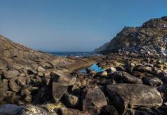 acantilados (DAVID MARCHENA) Tags: sky island blue seascape sea landscape spain galicia rock montain ocean explore atlantic
