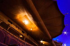 atlanta - fox theatre 9 (Doctor Casino) Tags: foxtheatre maryealgerandvinour oliviervinour 1929 theater moviepalace cinema moorishrevival egyptianrevival eclecticism atlanta atl architecture architect auditorium interior ceiling tent blue nightsky atmospheric balcony