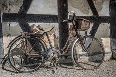 Old  bicycle (DC P) Tags: old bike bicycle vélo velo france vintage adventure a7rii architecture beautiful canon dof explore fantastic historic historical history ngc outdoor outdoors pov serene travel trekking transport urban view world