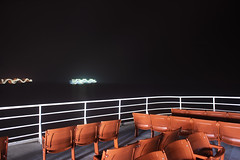 MV Coho (Curtis Gregory Perry) Tags: ferry shop boat mv victoria britishcolumbia nikon d810 port angeles night long exposure water seat chair outdoors outside strait coho black ball line