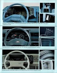 1986 Hyundai Dashboards (aldenjewell) Tags: 1986 hyundai excel stellar pony canadian brochure dashboards
