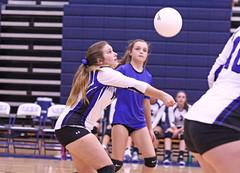 IMG_0256 (SJH Foto) Tags: girls high school volleyball etown elizabethtown palmyra teens jv dig bump burst mode