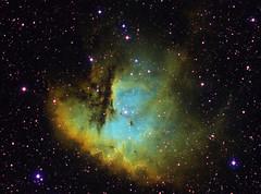 NGC281 - Pacman Nebula (CKemu) Tags: pacman ngc281 deepsky dso space astronomy astrophotography longexposure stars nebula sky cosmos universe telescope science lookup cassiopeia astrometrydotnet:id=nova2778257 astrometrydotnet:status=solved