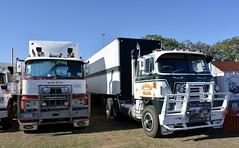 Mack and International (quarterdeck888) Tags: trucks photos truckphotos australiantrucks outbacktrucks workingtrucks primemover class8 overtheroad interstate frosty quarterdeck jerilderietrucks jerilderietruckphotos flickr bdoubles lorry bigrig highwaytrucks interstatetrucks nikon truck claredontruckshow clariontruckshow2018 truckshow australiantruckshows kenworthclassic oldtrucks oldaustraliantrucks australiantransporthistory mack f700 internationaltranstar inter internationaltrucks